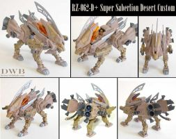 Zoids Super Saberlion Custom by Bang-Doll-SSI