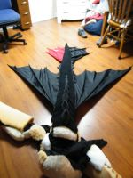 Toothless Wip - Finished Tail by Tsukune