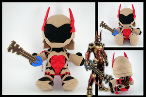Kingdom Hearts - Terra plushie by eitanya