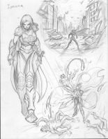 Iyanna sketches #Divinity by c-crain