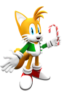 Christmas Tails 2014 Render by Nibroc-Rock