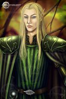 Elven Couple Detail2 by Taurina