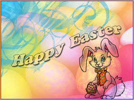 Happy Easter 2008 by Lou012