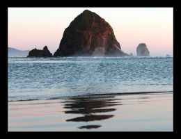 Haystack Rock Cannon Beach by jnicol21