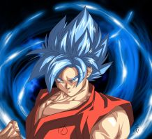 Super Saiyan Blue! by WarlockMaster