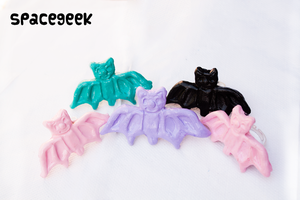 Pastel Bat Rings by candypow