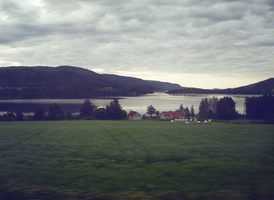 oslo by train. by bluetogray