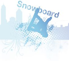 Urban Snowboard by mxlove