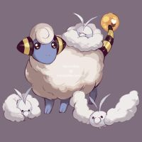 PKMN: Thunderclouds by Weissidian