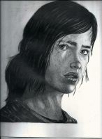 Ellie - The Last Of Us by flaviudraghis