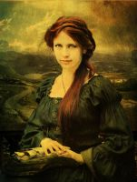 Mona Lisa Revisited by Digimaree