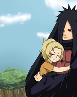PCM: Madara + Tsunade by Rosbelle