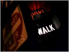DONT. WALK. by philosophyoftime
