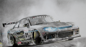 Nissan Silvia Drift (Race Driver Grid) by iRecGraphics