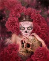 Las Calaveras by aruarian-dancer