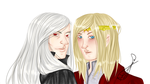 Lothaire And Kristoff by AmelieLefevre