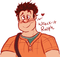 Wreck-it Ralph by Cerko
