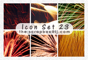 Icon Texture Set 23: New Years by bystrawbrry