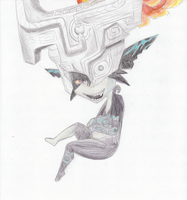 Twilight Princess Midna (Imp) by vaneko13