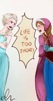 LIFE`S TOO SHORT! by Sango94