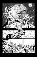 Rocket Raccoon and groot 3 pg5 by timothygreenII