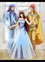 CORYN ,SAGA and ALBERICH by FanasY