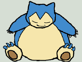 Shiny Snorlax by Artrookie--yup