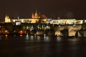 Prague at Night by N0ctum