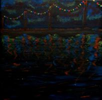Lights on the Sea by letmeusemyname