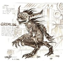 gremlin by artstain