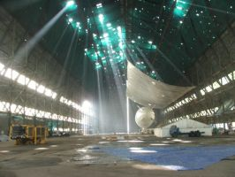 MET office hangar by baldrickthecunning