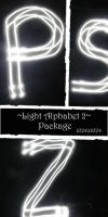 Light Alphabet Texture 2 by almudena-stock