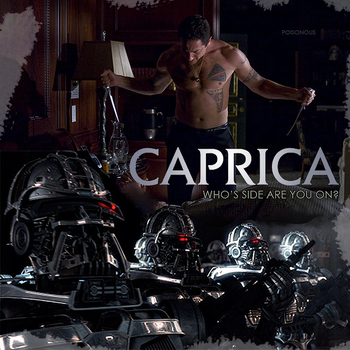 Caprica - Who's Side by PZNS