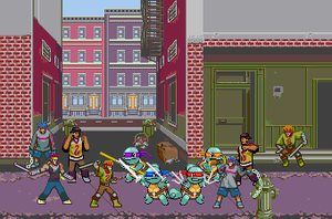 Teenage Mutant Ninja Squritles Wallpaper by EnteiTheHedgehog