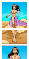 Starianna In Desert Peril by curtsibling