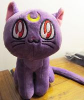 Luna plush by AnaInTheStars