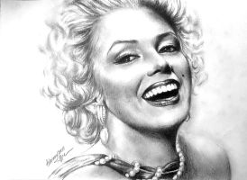 Beautiful Marilyn by ADIKAY