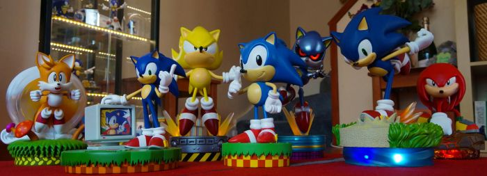First 4 figures Sonic Collection by Cobra-Roll