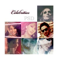 Arab Celebrities PSD by sa7eralqloob