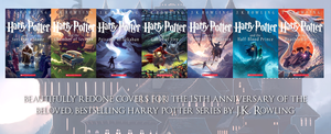 New Harry Potter Covers by 4thElementGraphics