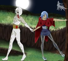 So innocent...-Ghirahim and Fi by Balisha04