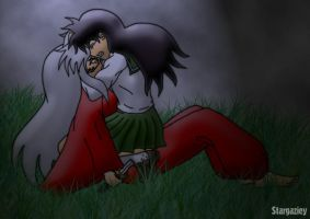 Kagome's Lament by stargaziey