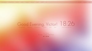 Rainmeter Clean Skin by viclarsson