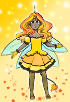 Magical Uni-Bee by kabocha