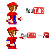 Mario McFly Approves YouTube, But Not Google Plus by Mario-McFly