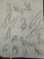 Hand practice by snarkdreamer