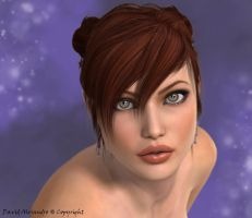 Face of Beauty 2 ... Aicka by Pitoxlon