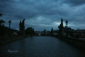 Charles bridge by Rounette