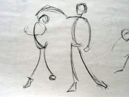 Life Drawing - Dancing by EvilAnimator