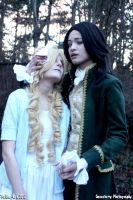 Tsukino-Con 2012: Claudia and Louis by geoectomy